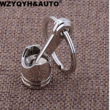car styling Automotive Parts Key Rings Model Alloy Key Chain for Audi BMW vw skaoda seat mazda toyota lada ford(China)