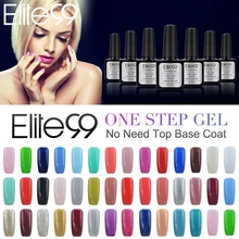 Elite99 One Step Gel Nail Polish UV LED Lacquer Manicure No Need Base Top Coat Esmaltes Permanentes De UV Color Vernis a Ongle(China)