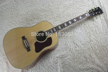 2015 New + Factory + Chibson J45 custom acoustic guitar solid sitka top J45 custom electric acoustic guitar Sapele body(China)