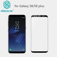 Nillkin for Samsung galaxy s8 Anti-Explosion Resin Protector AP+ PRO Soft Border full Cover Screen Protector For galaxy s8 Plus(China)