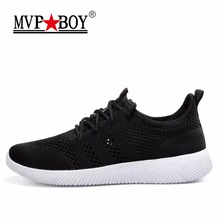 Brand MVP BOY 2017 New Winter and Spring Running Shoes for Men/Women Size 36-44 Sneakers Men/Women Sport Shoes Free Shipping(China)