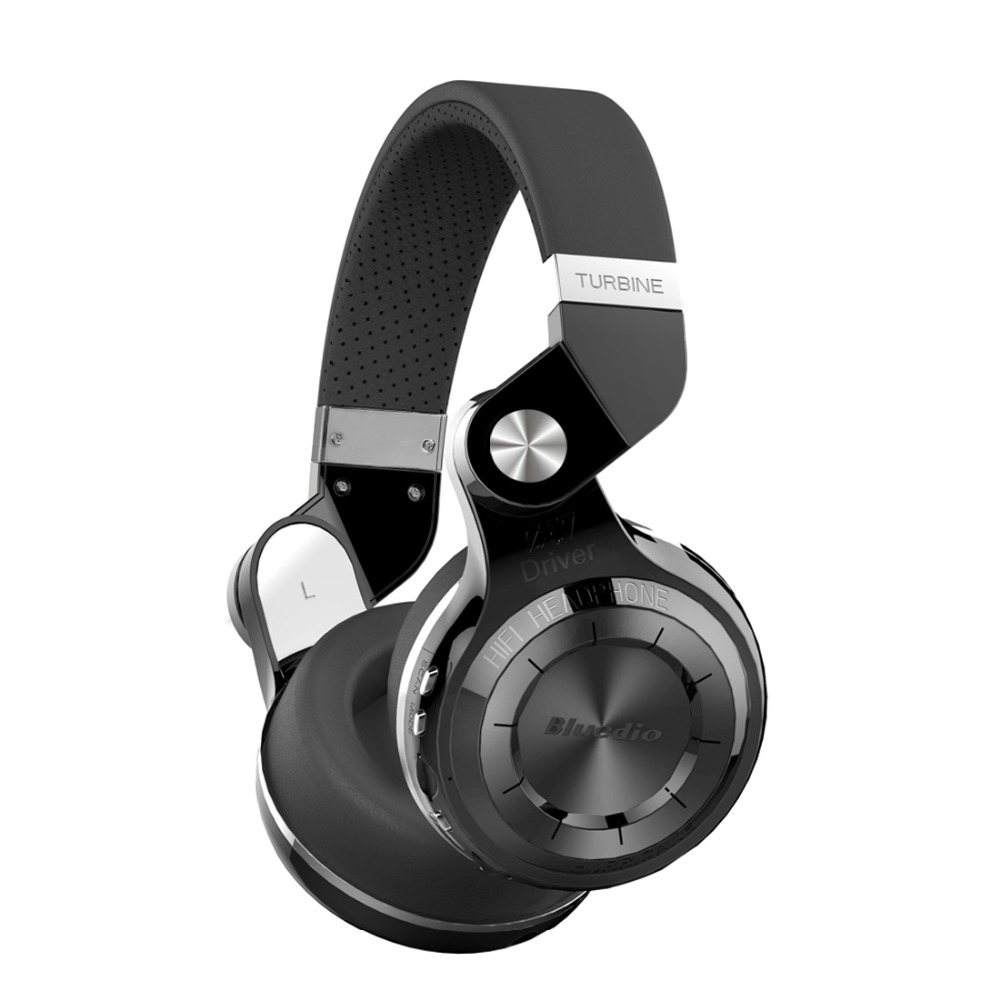 Bluedio T2 + foldable over-ear headphones BT bluetooth 4.1 FM and SD card support functions Music &amp; phone Bluetooth headphone <br><br>Aliexpress