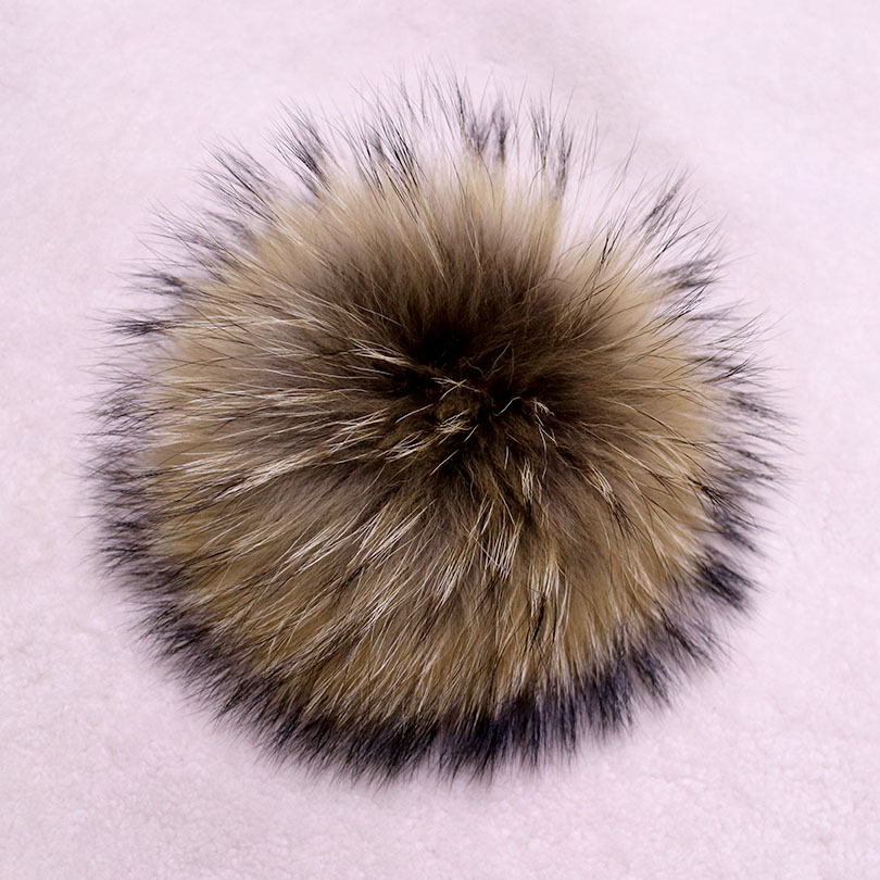 Genuine Real Raccoon Fur Pompom Fur Pom Poms Ball for Hats &amp; Caps Big Natural Fur Pompon Ball For Shoes Hats Bags AccessoriesОдежда и ак�е��уары<br><br><br>Aliexpress