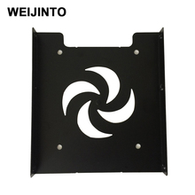 Useful 2.5 Inch SSD HDD To 3.5 Inch Metal Mounting Adapter Bracket Dock For PC SSD Solid State Hard Disk(China)
