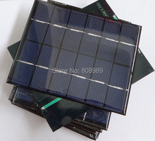 2W 6V 0.33A Mini Solar Panels Solar Power 3.6V Battery Charge Solar Cell Diy Soar Charger 136*110*3MM 3pcs/lot Free Shipping(China)
