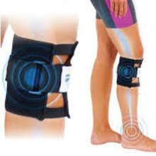 Sports Magnetic Therapy Black Knee brace Leggings Pressure Point Brace Back Pain Acupressure Sciatic Nerve Be Active 0459 1 Pcs
