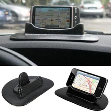 New Black Car Mobile Phone Holder Dashboard Sticky Pad Mat Anti Non Slip Gadget GPS Interior Item Accessories