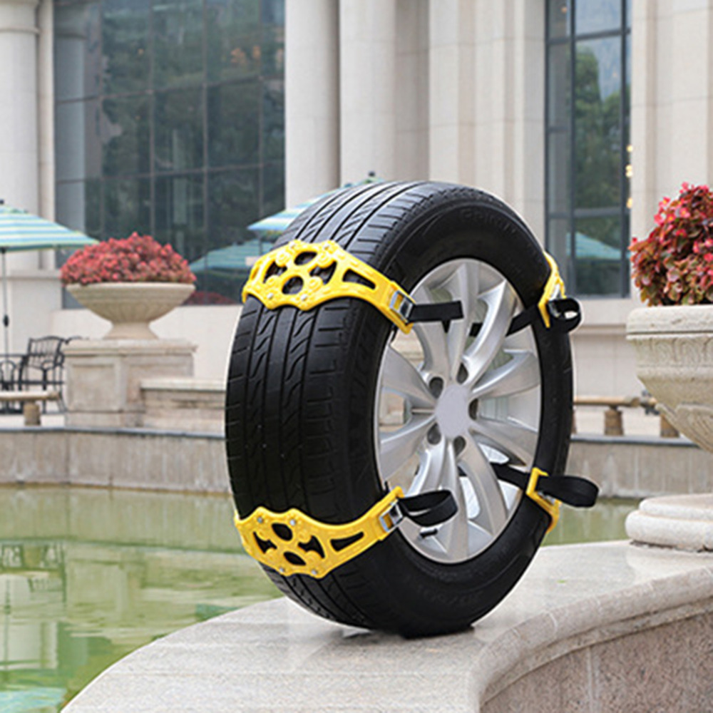Universal TPU Car Winter Anti-Slip Chain Outdoor Vehicle Wheel Emergency Anti-skid Chain For Snow Mud Road