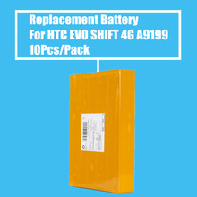 New Arrival 10Pcs/Pack 1500mah Replacement Battery for HTC EVO SHIFT 4G A8188 A9199 A9292 T7373 T9199 T8188 High Quality(China)
