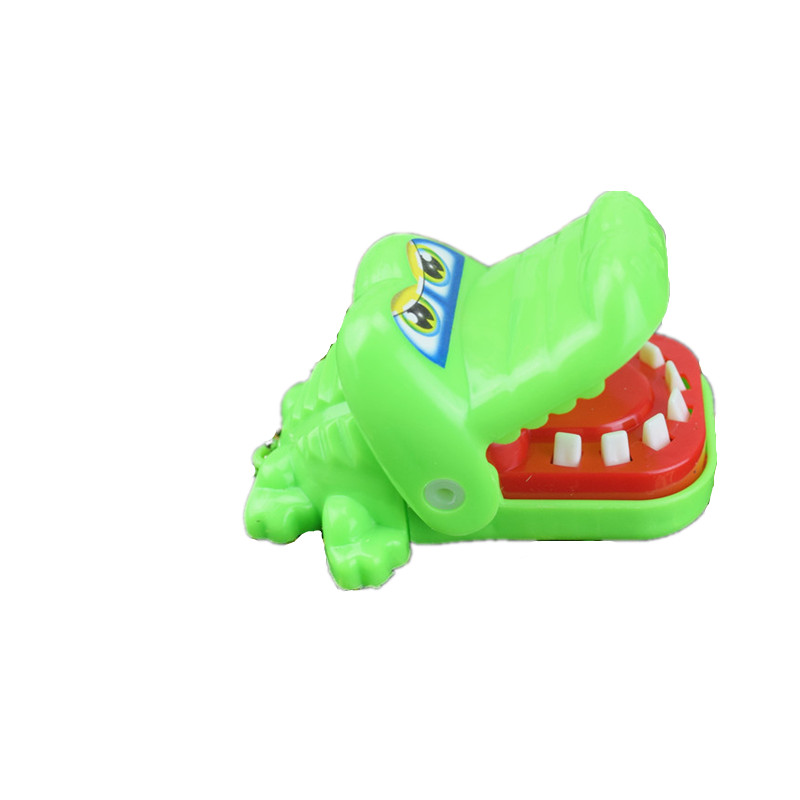 Model Building Kits Magic Crocodile Tooth Bite Your Finger Halloween Finger Toy For Adult And Kids Party Toy Gift Novelty Item(China)