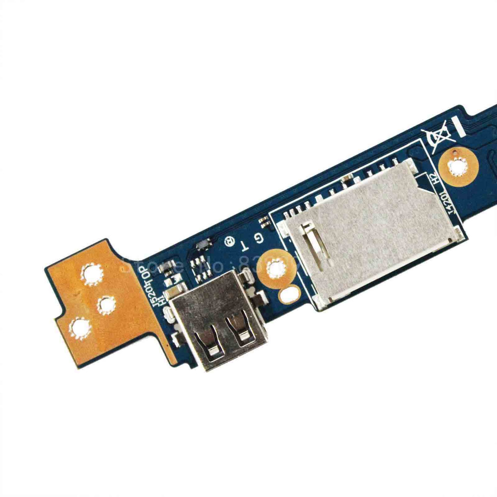 For ASUS Q302 Q302L Q302LA Q302U Q302UA IO Board Power Button 60NB05Y0-IO1070 JI