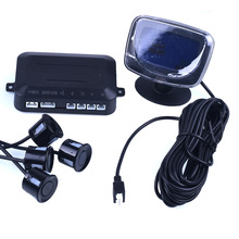 1Set Car LCD Parking Sensor Kit Display 4 Sensors for all cars Reverse Assistance Beep Backup Radar Monitor System