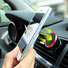 Universal Car Holder Magnetic Air Vent Mount Magnet Smartphone Dock Mobile Phone Holder for iphone Cell Phone Holder GPS Stands