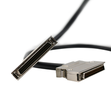 SCSI Cable HPDB50 Male To Male Cable HPDB50 to HPDB50 Cable Hulled Hook Type Customization