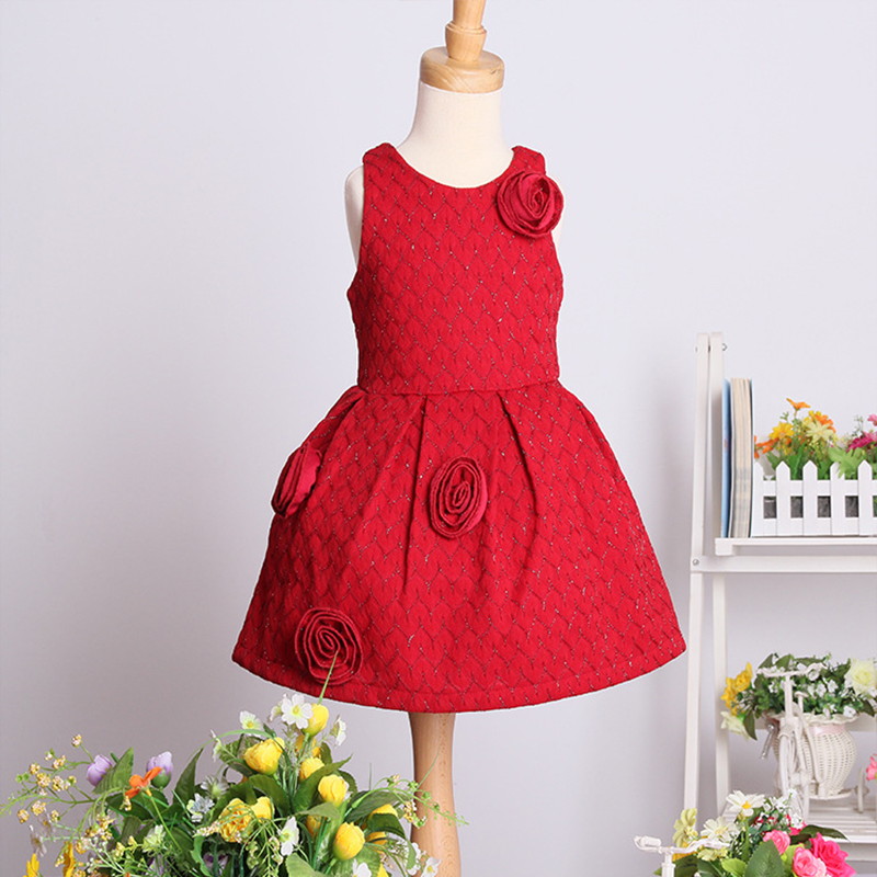 Baby girls dresses kids princess sofia dress applique sleeveless Back zipper  for party and wedding christmas dress Elsa dress<br><br>Aliexpress