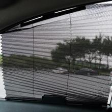 Hot 60cmx46cm Home/Car Window Sunshade Curtain Black Side Rear Window Mesh Visor Shield Side Window Solar Protection for summer(China)