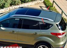 High quaity ! Aluminium Roof Rack Side Rails Bars For Ford Escape 2013 2014