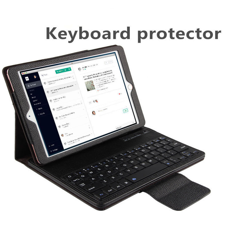 Case For Apple iPad 9.7 New 2017 Protective Wireless Bluetooth keyboard Smart cover Tablet For iPad 9.7 ipad9.7 PU Leather Case<br>