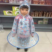 VILEAD New PVC Children's Raincoat Unisex Student Rainwear Waterproof Windproof Poncho with Schoolbag Protector for Outdoor Tour(China)