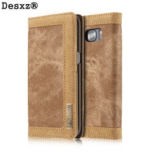 Buy Desxz Phone Case Samsung Galaxy S7 S7 Edge Luxury Retro Jeans Cloth PU leather cases galaxys7 phone stand holder for $13.18 in AliExpress store