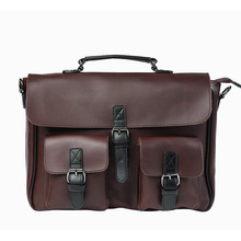 New! Fashion Retro Leisure Messenger High Capacity Large Men 's Bag Trend Package Shoulder Bag Men' S Bag Work Document Package
