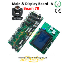 Litewinsune 1PC Free Ship Main Board/Display Board for Beam R7 230W Sharp Moving Head Light(China)