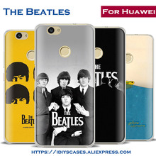 Rock Band The Beatles Phone Case Cover Shell bag For Huawei Ascend P8 P9 Lite P10 Plus Honor 6x 7 7i 8 V8 V9 9 Mate 7 8 9 Nova(China)