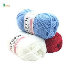 Cotton Knitting Yarn Crochet Yarn for Knitting Anti-Static Soft Cheap Yarn Factory Price for Sale Free Shipping