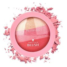 4 Colors Baked Blush Makeup Cosmetic Natural Baked Blusher Powder Palette Charming Cheek Color Make Up Face Blush Z5035