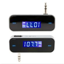 2017 New Wireless 3.5mm In-Car Handsfree Car Kit  Stereo  Music Audio Radio MP3 FM Transmitter For iPod PC high quality