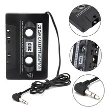 Cassette Aux Adapter Car Cassette Tape Cassette Mp3 Player Converter 3.5mm Jack Plug For iPod iPhone MP3 AUX Cable CD Player(China)