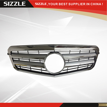 ABS Plastic Silver Auto Front Grille For Mercedes W212 E-Class 2009-2013 CL Style(China)