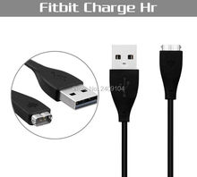 wholesale 200pcs/lot 27cm USB Charger Charging Cable For Fitbit Charge HR Smart Wristband good quality