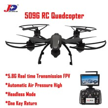 Drone JXD 509G JXD509G With LCD Monitor 5.8G FPV 2MP HD Camera Altitude Hold Mode One key return RC Quadcopter Dron helicopters
