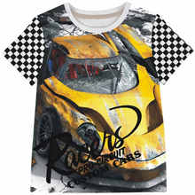 Children short sleeve T-shirt 2-10 years old boys t shirts and baby boy t shirt car Hot Sale Summer Style Kids Brand(China)