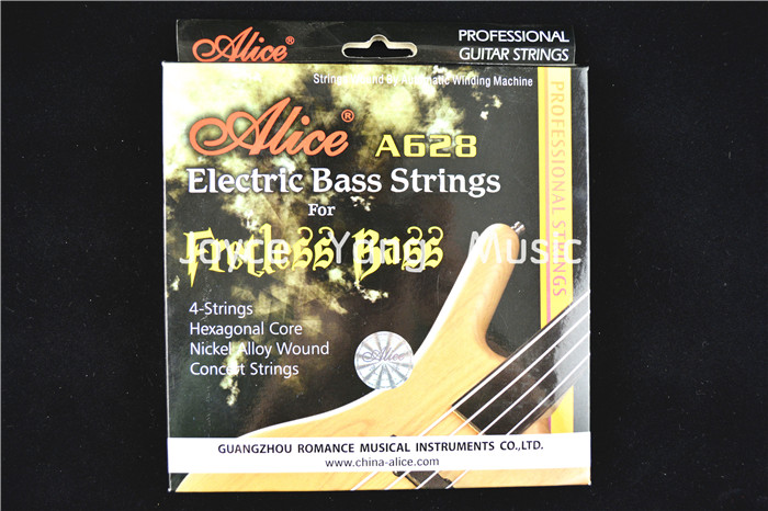 Alice A628 Fretless Electric Bass Strings Concert Strings Nickel Alloy Wound 4 Strings 045-101 in. Free Shipping<br><br>Aliexpress