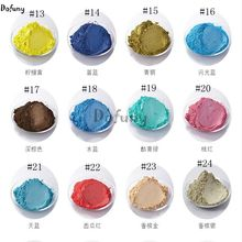 Many Colors Pearlescent Powder  Pigment for Car Paint Nail Polish Mica Glitter  Pearl Powder Cosmetic Flash Dust