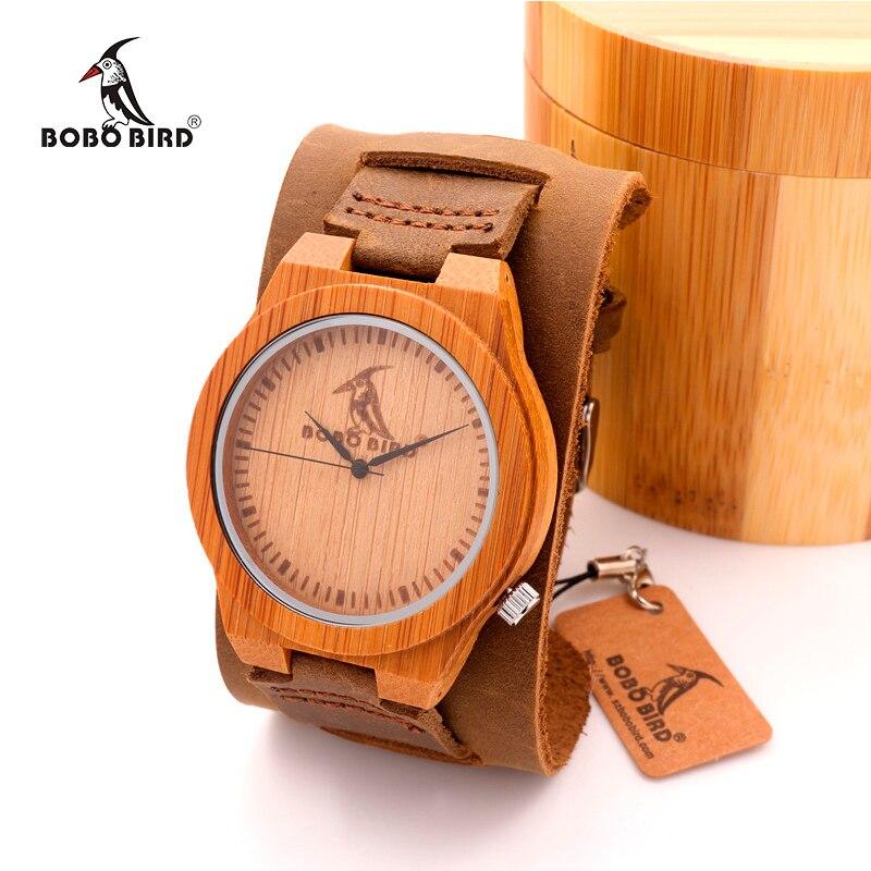 BOBOBIRD Mens Luxulry Brand Designer Watch Vintage Wood Watches Leather Band Quartz Watches in Gift Box<br><br>Aliexpress