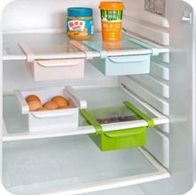 Home kitchen appliances refrigerator storage rack drawer partition shelf shelf plastic multifunctional rack