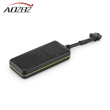 AOZBZ GPS GSM GPRS Realtime Tracker TK-309 Tracking Device System Support Geo-fence Overspeed Vibration Alarm for Car Motorcycle(China)