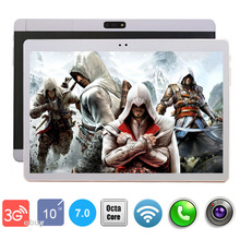 2017 New 10 inch Android 7.0 tablet Pc 3G Octa Core 4GB RAM 64GB ROM 1280*800 IPS Kids Gift Tablets 10 10.1 Tablet(China)