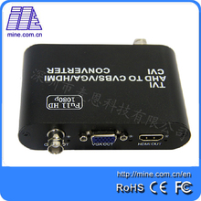 Full HD 1080p TVI/ CVI /AHD to CVBS/VGA/HDMI Converter Factory Price(China)