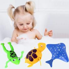 Baby Bath Toy Classic Frog/Turtle/Devil Fish Early Educational Toys Baby Newborn Gifts(China)
