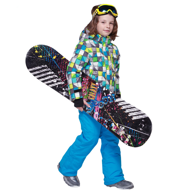 The 2017 new winter sets high-end genuine childrens ski suit boys suit warm waterproof baby boy clothes aTST0209<br><br>Aliexpress