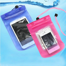 Hot Sale Mobile Phone Waterproof Bag Case Cover Underwater for Touch Water proof Mobile Phone Accessories  Parts for iphone4 5 6