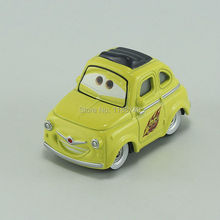Pixar Cars Luigi Diecast Metal Toy Car For Children Gift 1:55 Loose New In Stock(China)