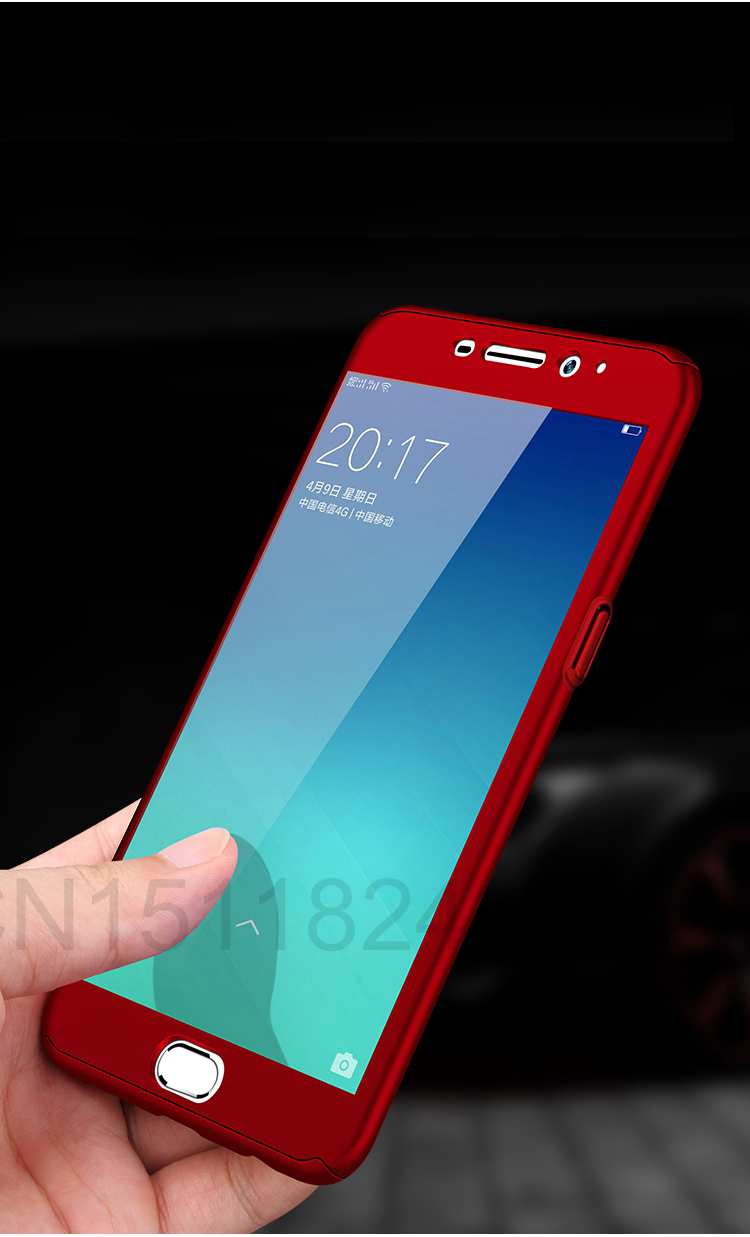 360 Full Case For Meizu Pro 7 Cases Hard PC Degree For Meizu  M6 Note M6 M5 Note  M6s Cover + Tempered Glass A7