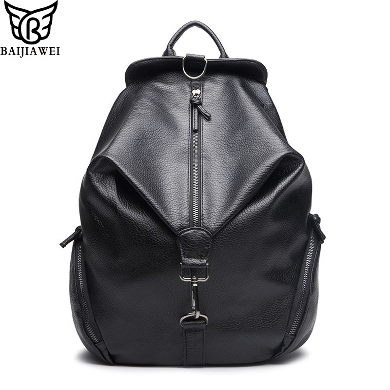 BAIJIAWEI 2017 Design PU Leather School Bags For Teenagers Girls Women Backpacks Female Travel Back Packs Ladies Shoulders Bag<br><br>Aliexpress