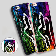 Sport Fox Racing Nebula Soft TPU Silicone Phone Case Cover for iPhone 4 4S 5C 5 SE 5S 6 6S 7 Plus