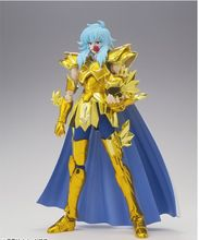 Special offer LC Model Saint Seiya Pisces Aphrodite Myth Cloth Gold pvc Action Figure toy doll Collectible gifts with metal foot(China)